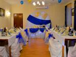 Свадьба синяя